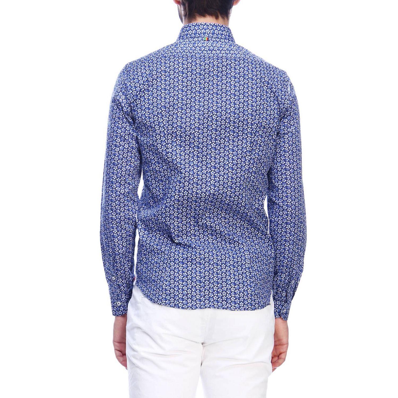 Shirt men Manuel Ritz blue 1 3