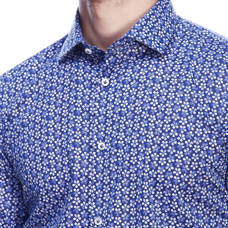 Shirt men Manuel Ritz blue 1 4