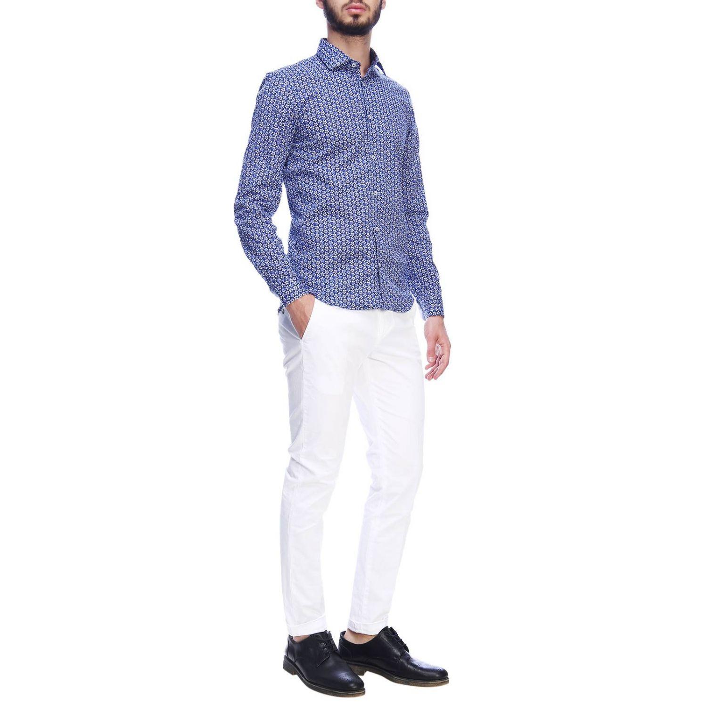 Shirt Manuel Ritz: Shirt men Manuel Ritz blue 1 5