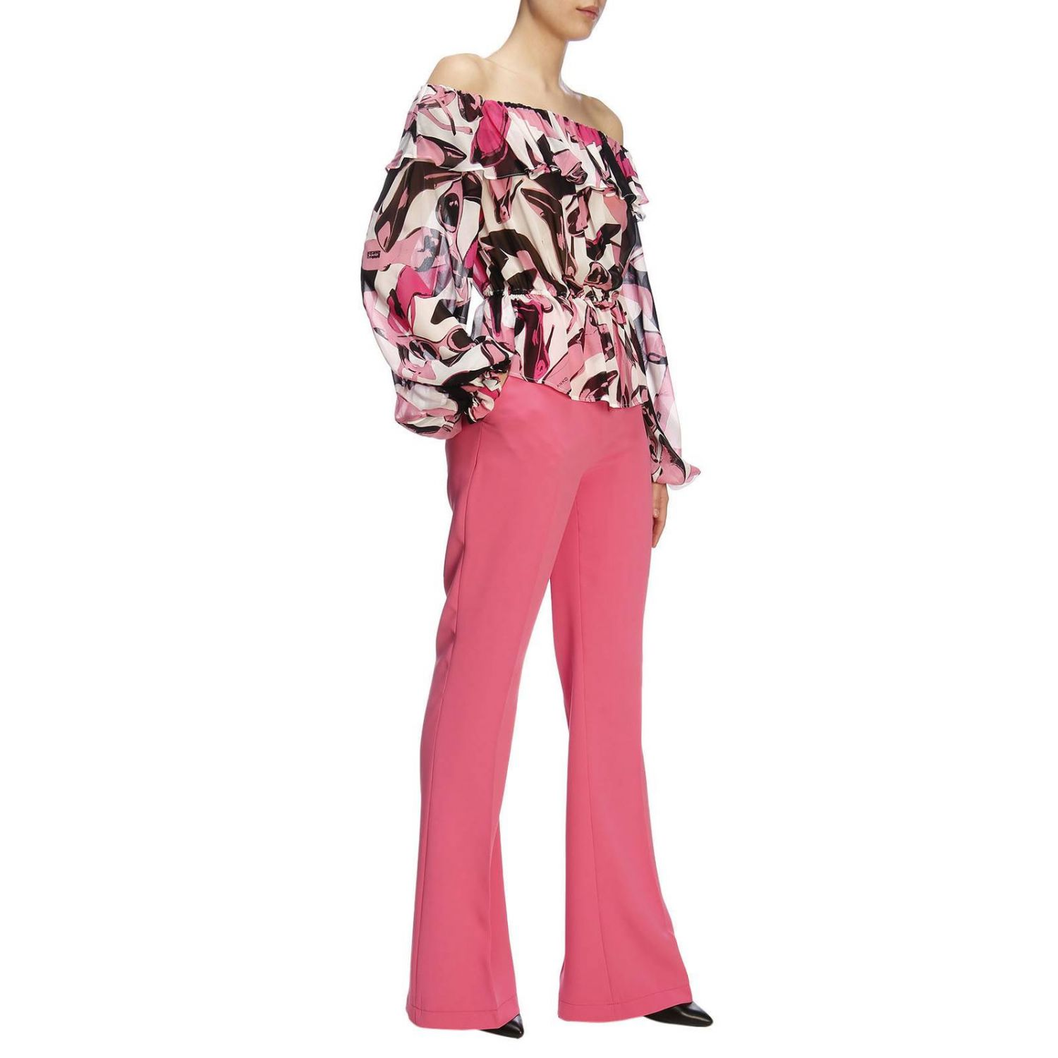 Pull femme Pinko Uniqueness rose 5