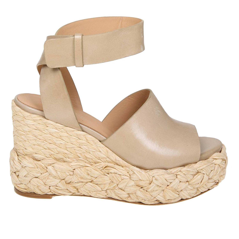 Wedge shoes women Paloma BarcelÒ dove grey 1