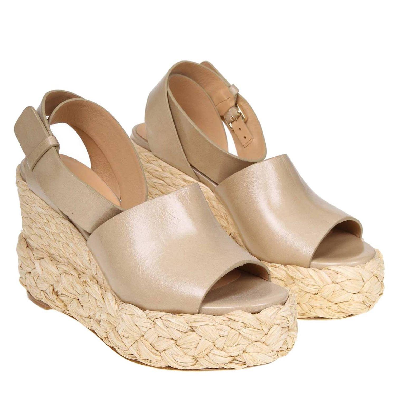 Wedge shoes women Paloma BarcelÒ dove grey 2
