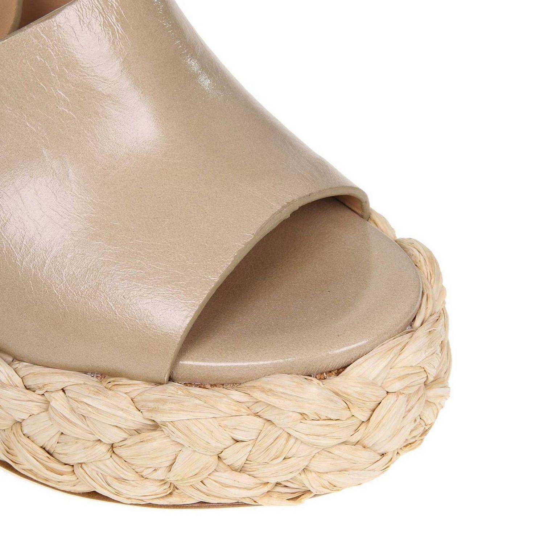 Wedge shoes women Paloma BarcelÒ dove grey 3