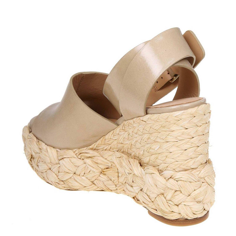 Wedge shoes women Paloma BarcelÒ dove grey 4