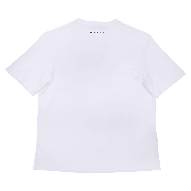 T-shirt enfant Marni blanc 2