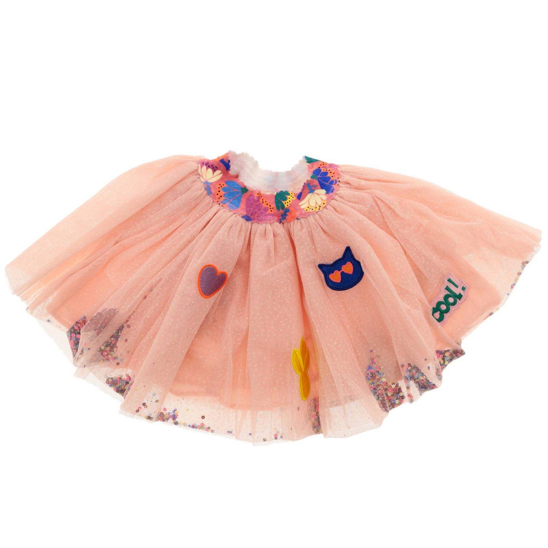 Falda niños Billieblush rosa 1