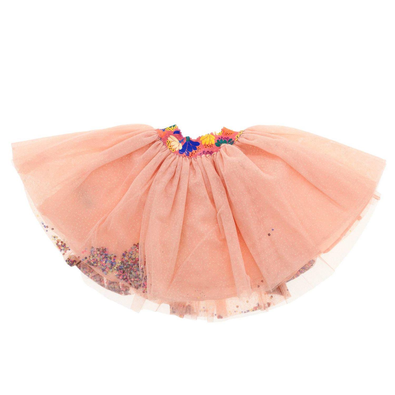 Falda niños Billieblush rosa 2