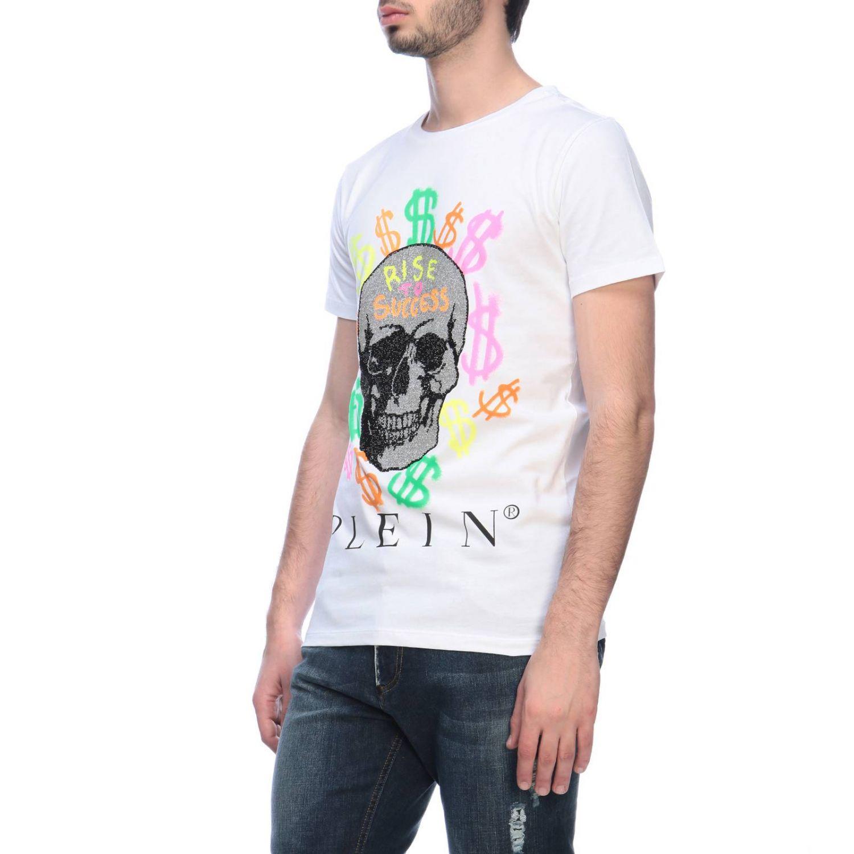 T恤 男士 Philipp Plein 白色 2