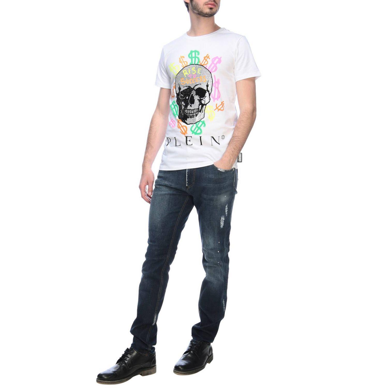 T恤 男士 Philipp Plein 白色 4