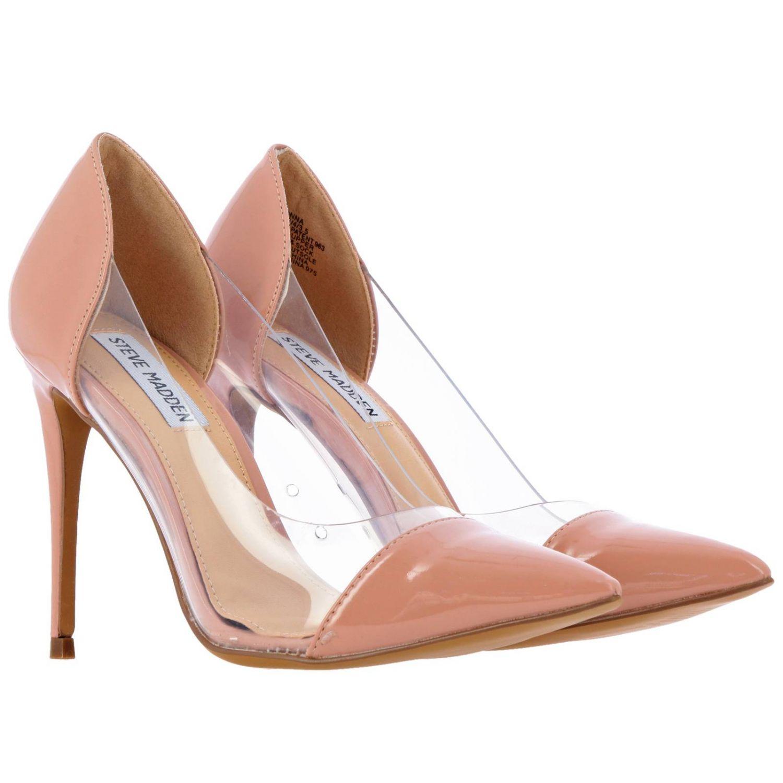 High heel shoes women Steve Madden nude 2