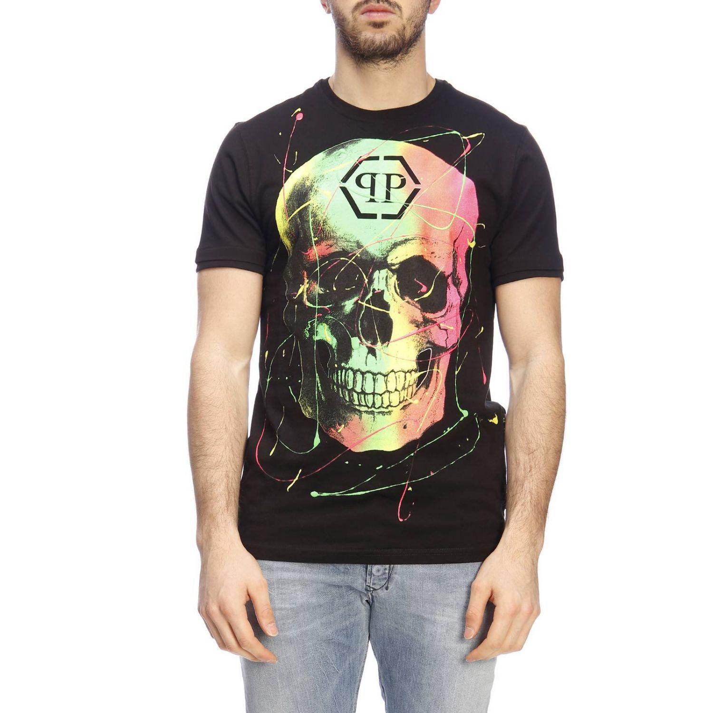 T恤 男士 Philipp Plein 黑色 1