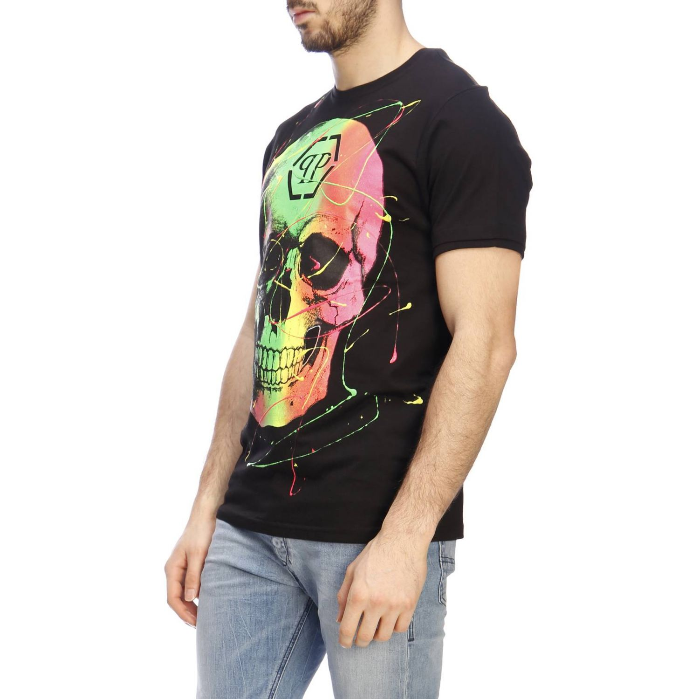 T恤 男士 Philipp Plein 黑色 2