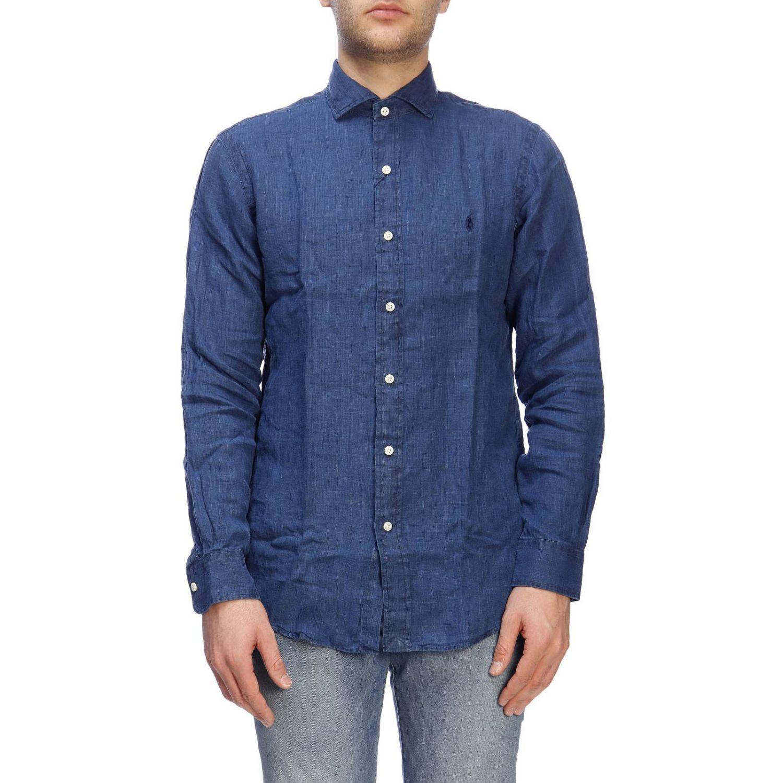 Camisa hombre Polo Ralph Lauren índigo 1