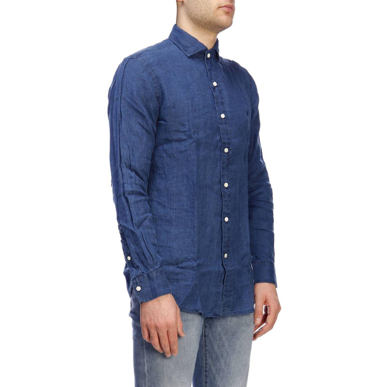Camisa hombre Polo Ralph Lauren índigo 2