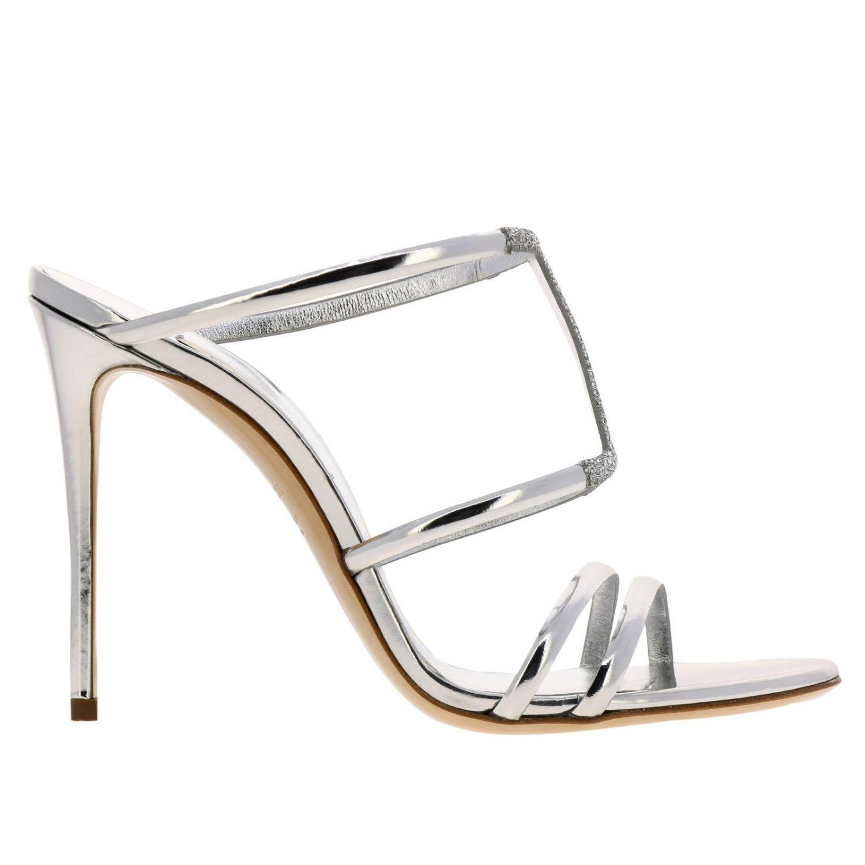 高跟凉鞋 女士 Casadei 银色 1