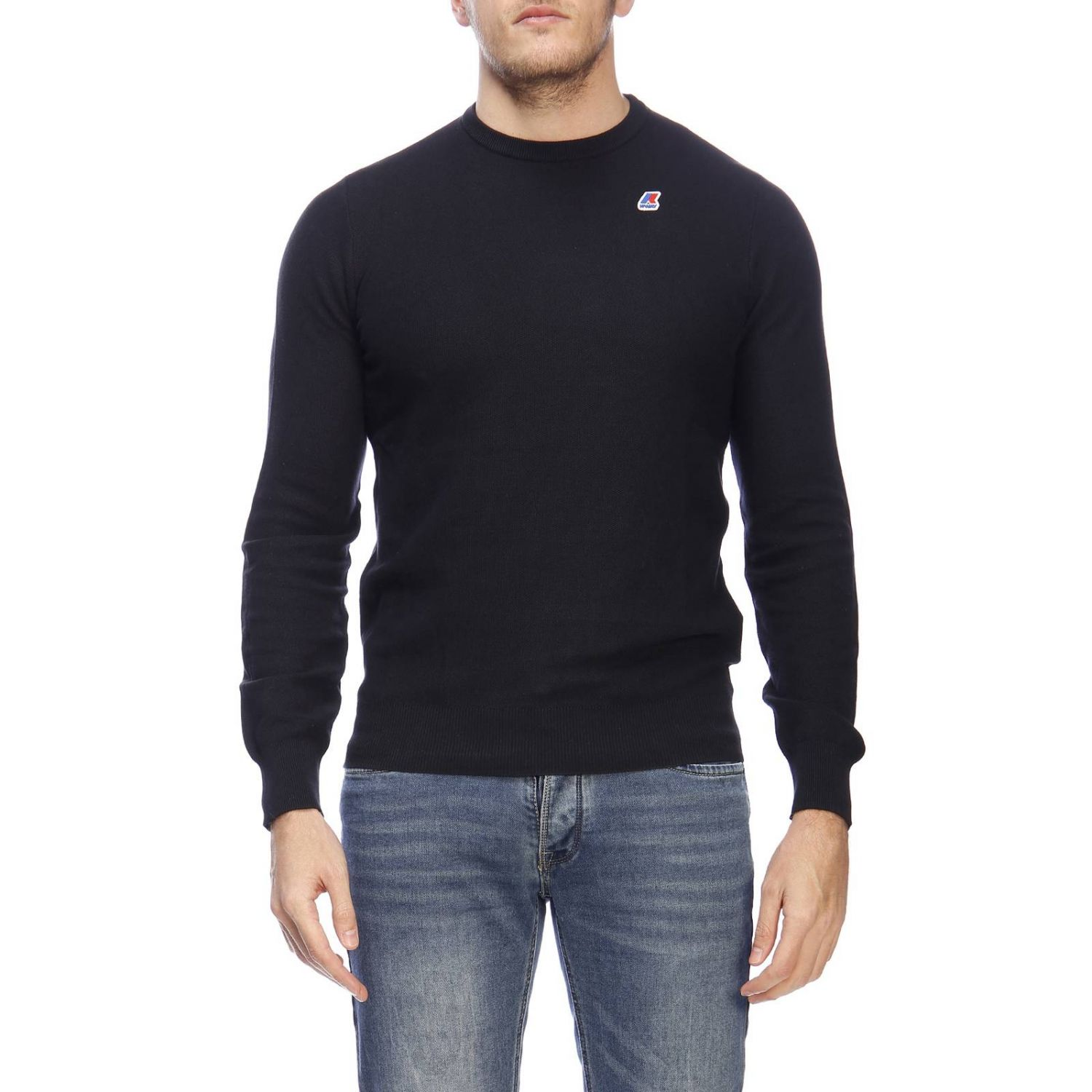 Sweater men K-way blue 1