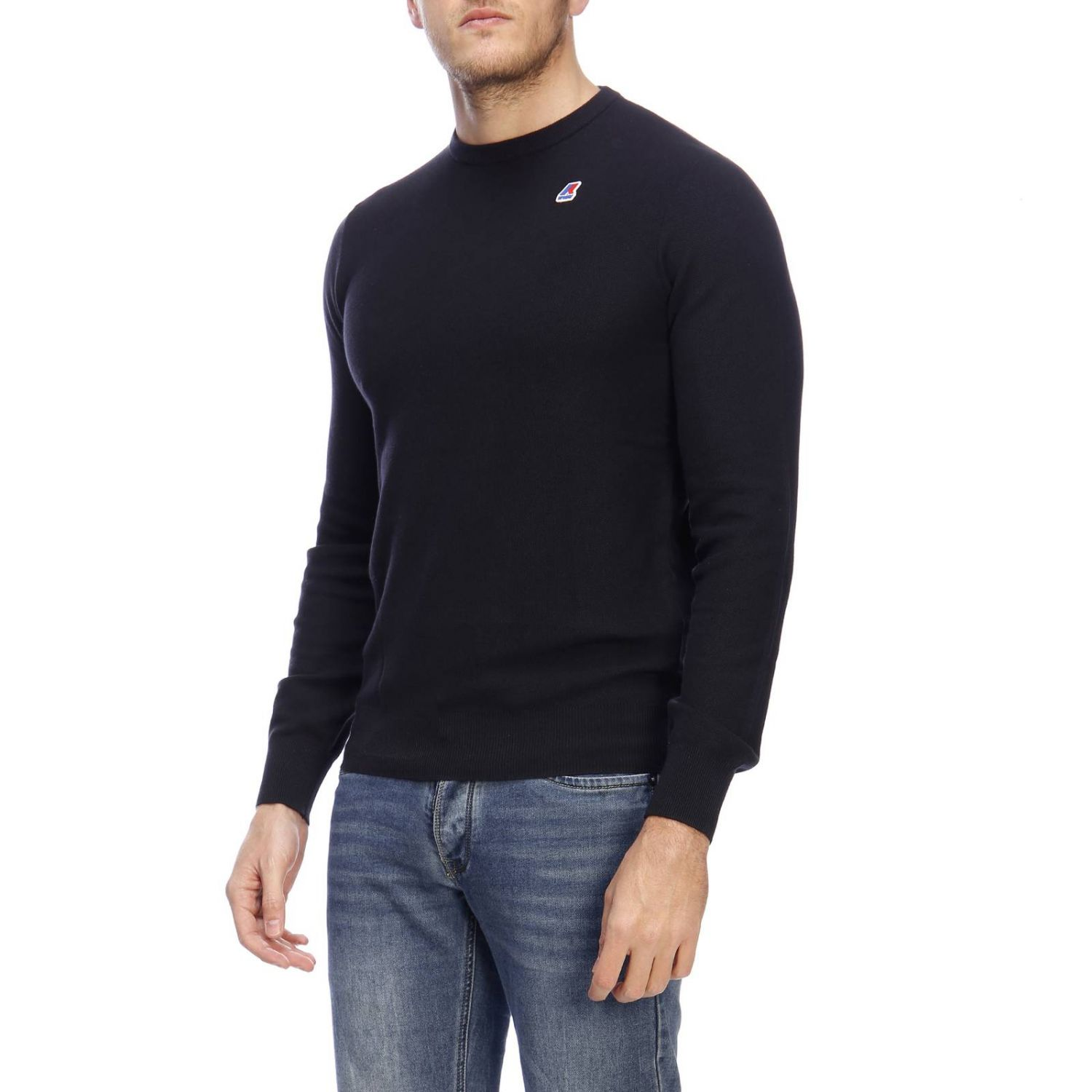 Sweater men K-way blue 2