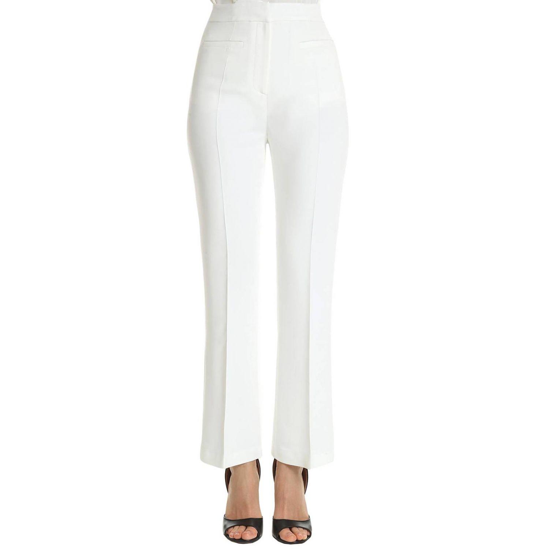 裤子 Alberta Ferretti: 裤子 女士 Alberta Ferretti 白色 1