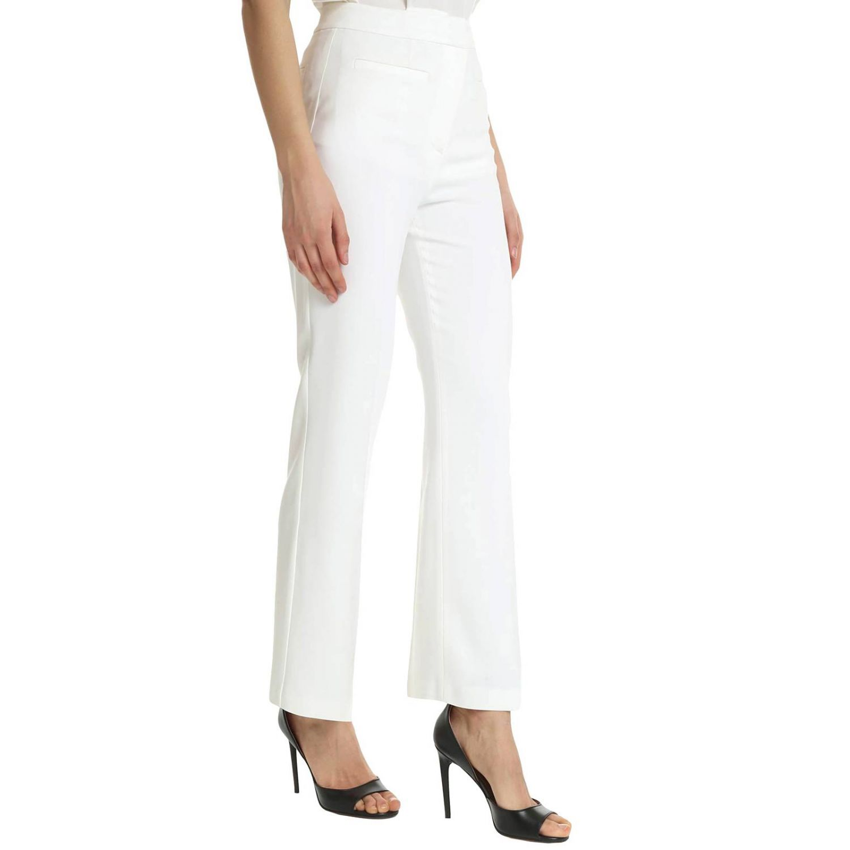 裤子 Alberta Ferretti: 裤子 女士 Alberta Ferretti 白色 2