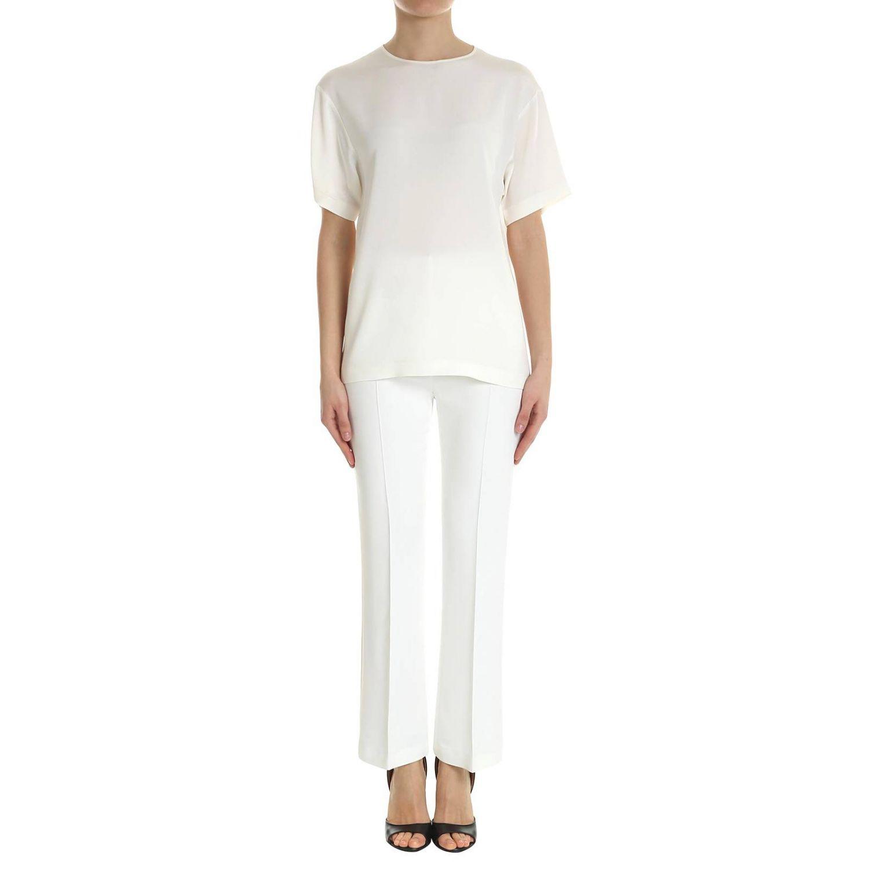 Shirt Alberta Ferretti: Shirt women Alberta Ferretti white 4