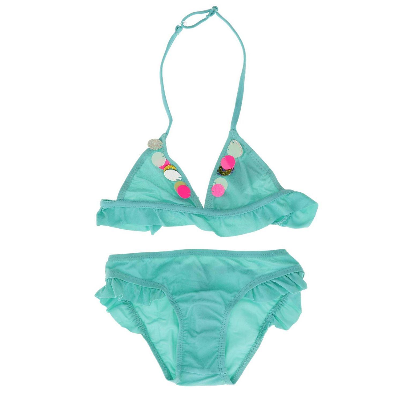 Maillot de bain enfant Billieblush turquoise 1