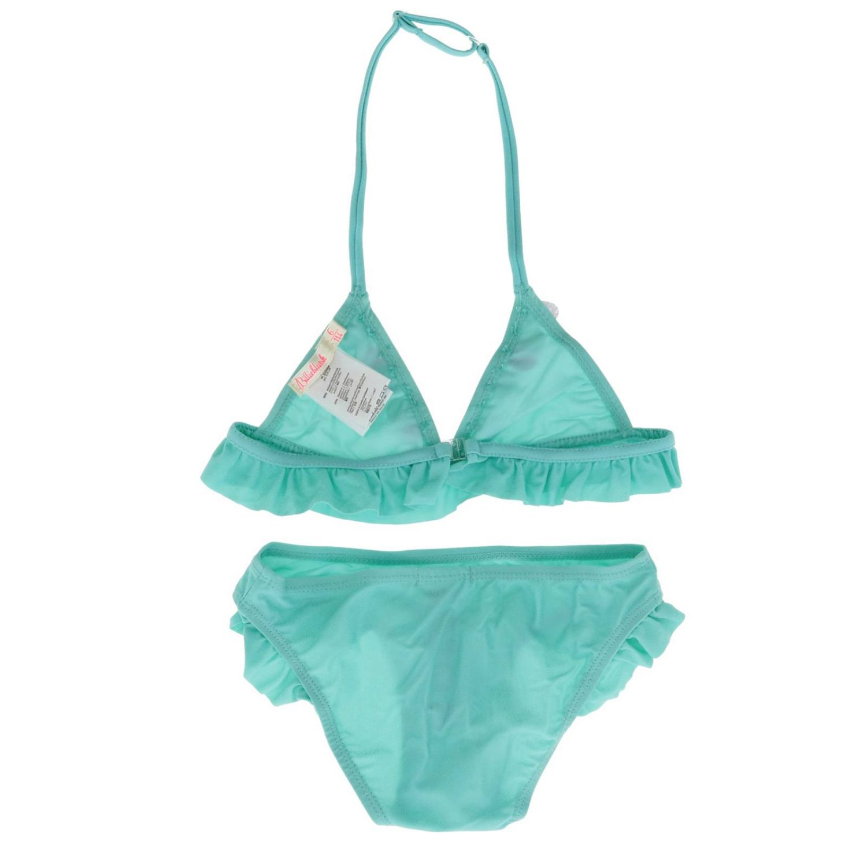 Maillot de bain enfant Billieblush turquoise 2