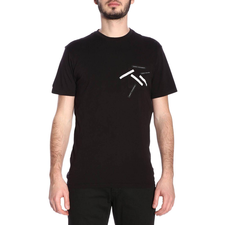 Camiseta hombre Daniele Alessandrini negro 1