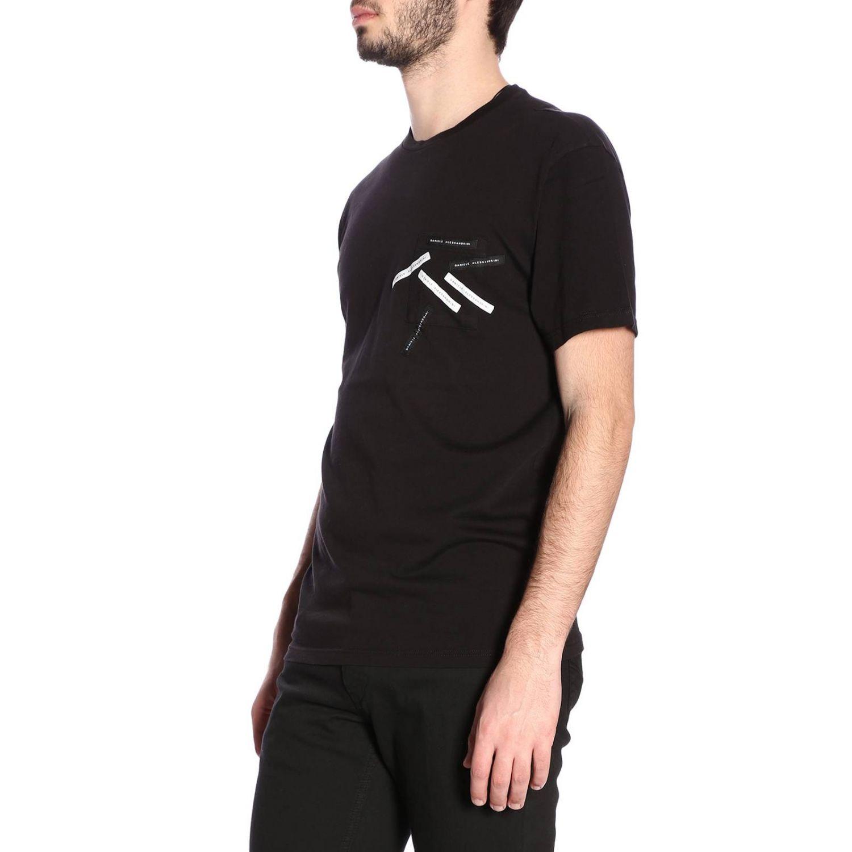 Camiseta hombre Daniele Alessandrini negro 2