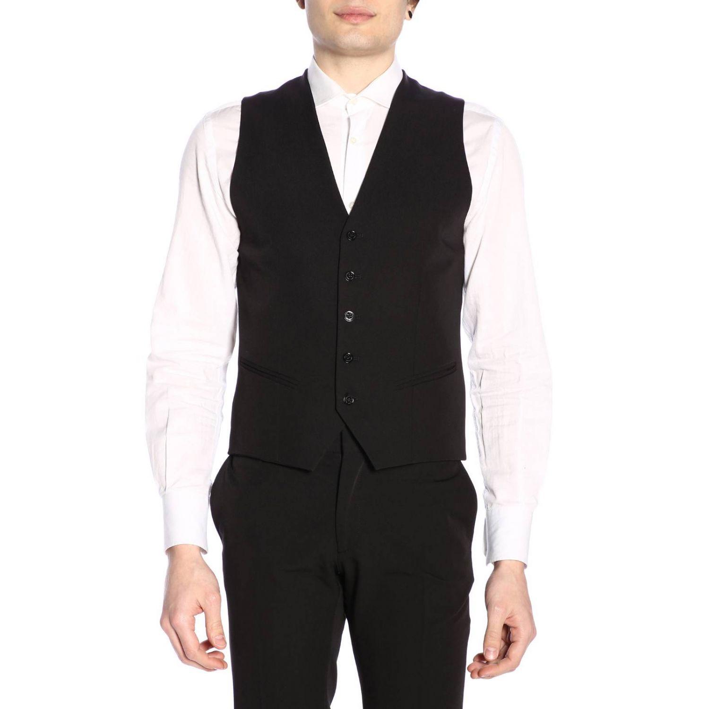 Suit vest Daniele Alessandrini: Suit vest men Daniele Alessandrini blue 1