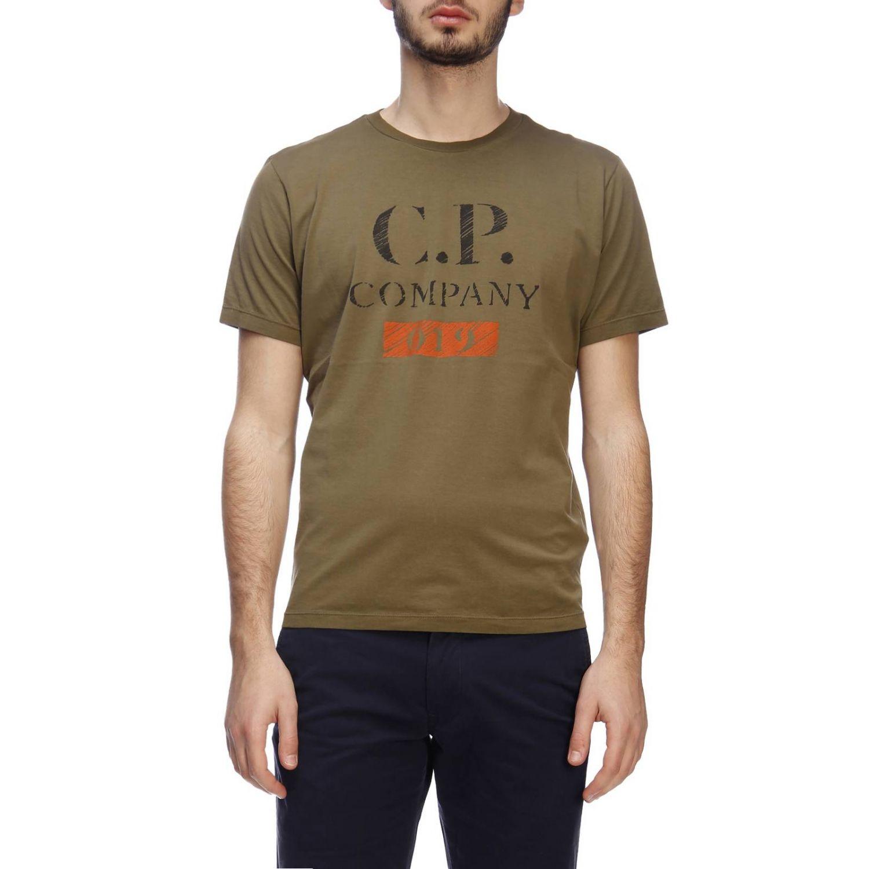 T-shirt C.p. Company: T-shirt men C.p. Company military 1