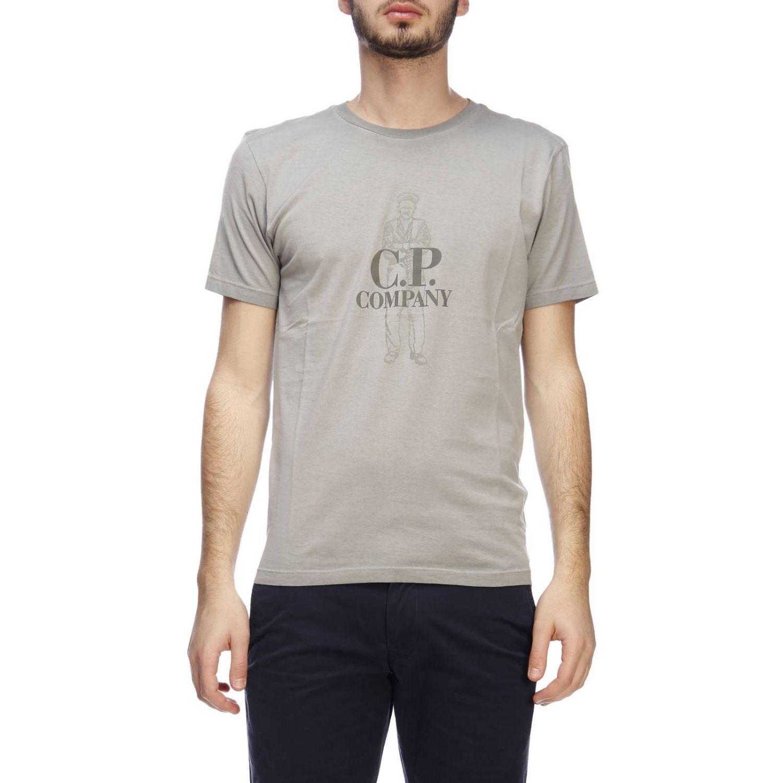 T-shirt C.p. Company: T-shirt men C.p. Company grey 1