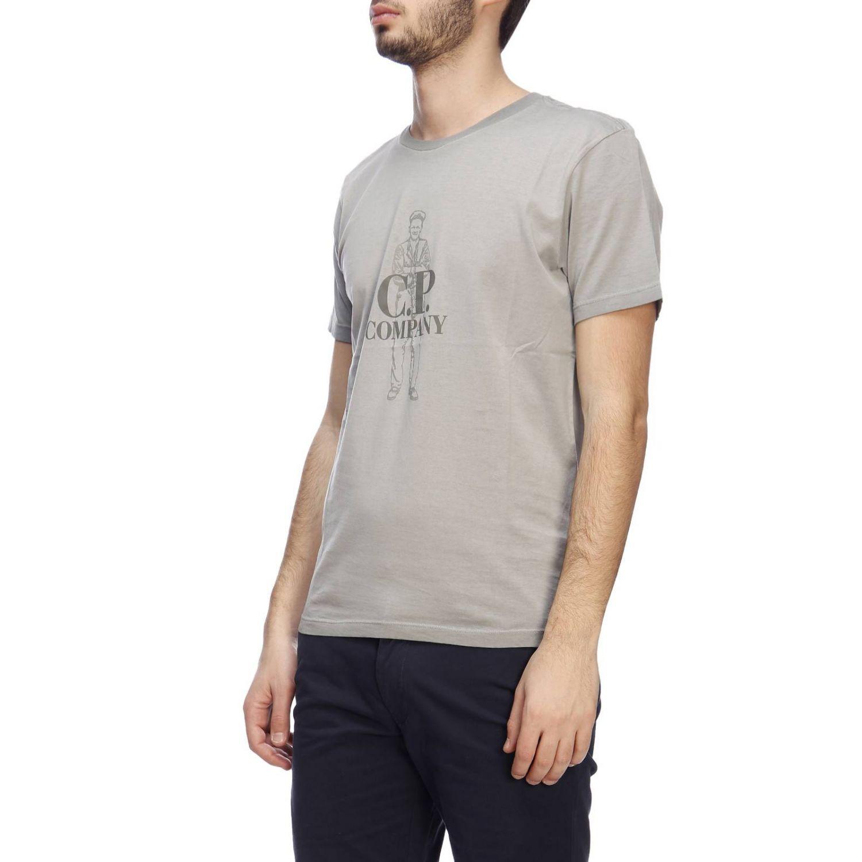 T-shirt C.p. Company: T-shirt men C.p. Company grey 2