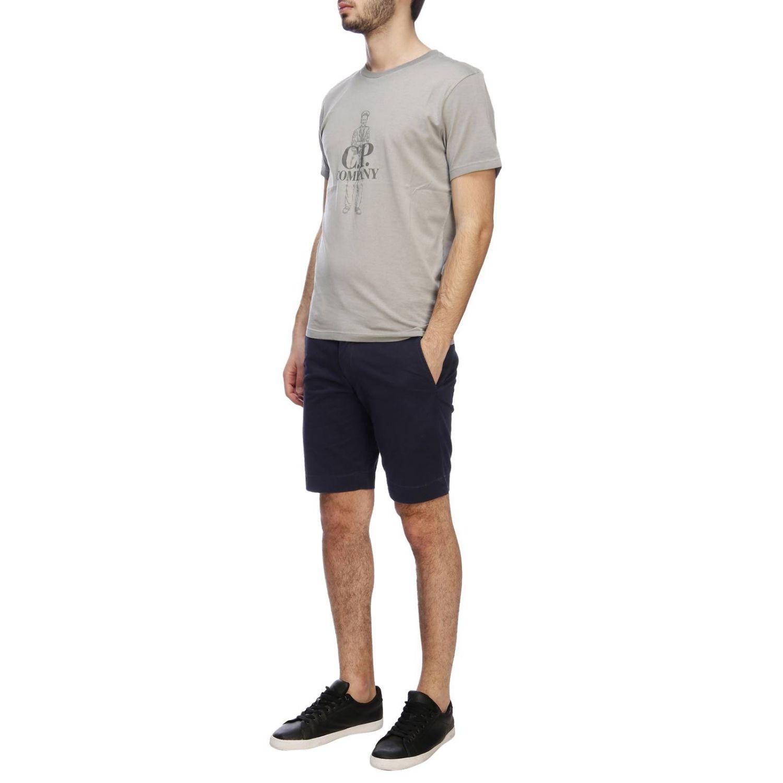 T-shirt C.p. Company: T-shirt men C.p. Company grey 4