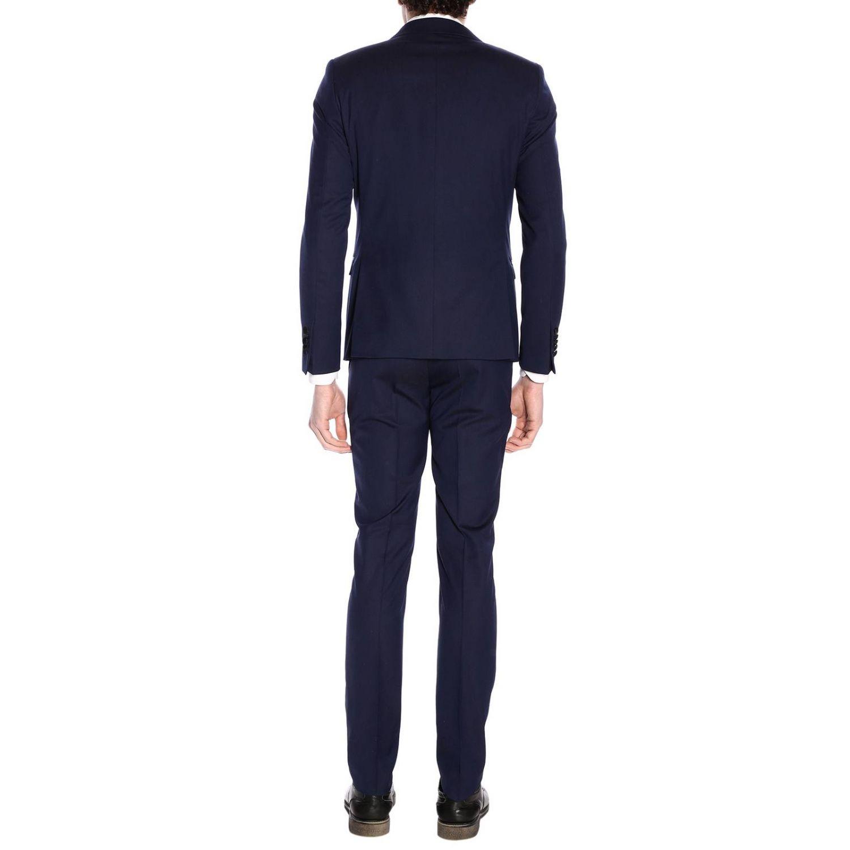 Классический костюм Мужское Manuel Ritz синий 3