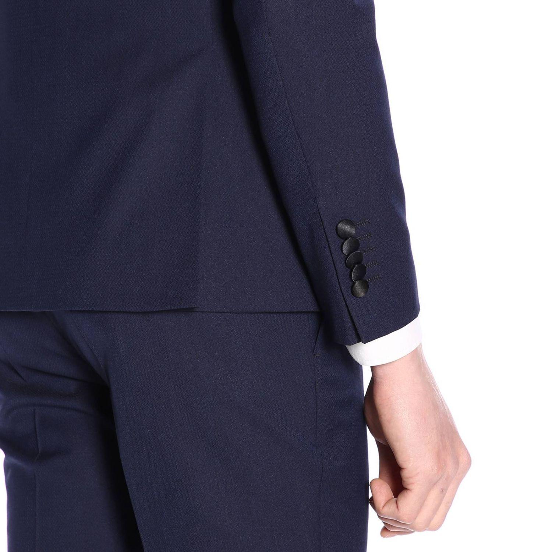 Классический костюм Мужское Manuel Ritz синий 4