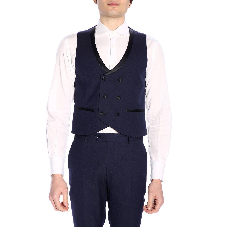 Классический костюм Мужское Manuel Ritz синий 6