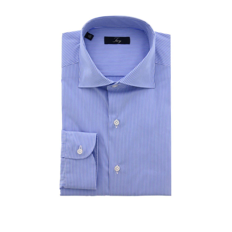 衬衫 Fay: 衬衫 男士 Fay 浅蓝色 1