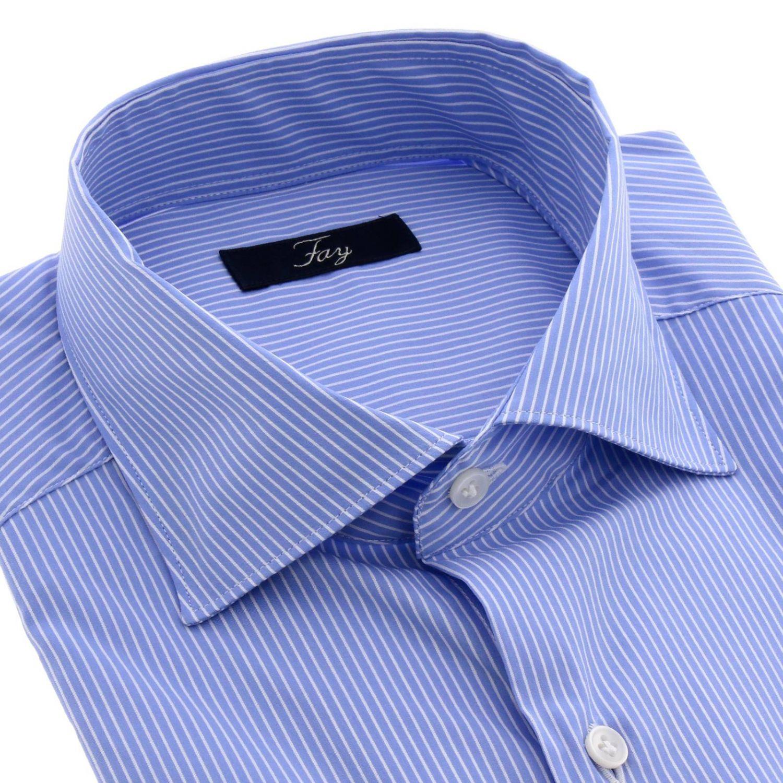 衬衫 Fay: 衬衫 男士 Fay 浅蓝色 2