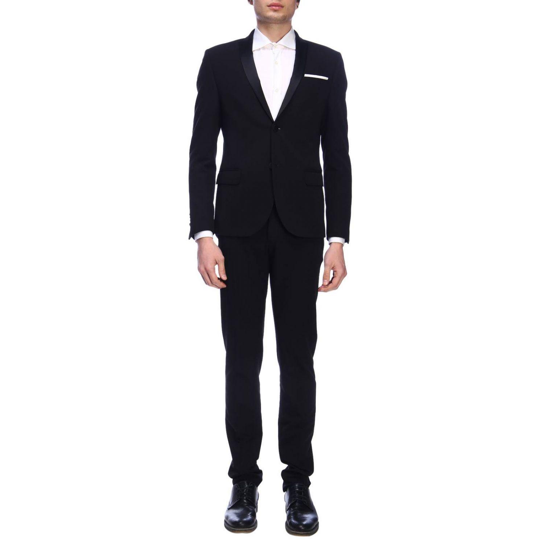 Suit Daniele Alessandrini: Suit men Daniele Alessandrini black 1
