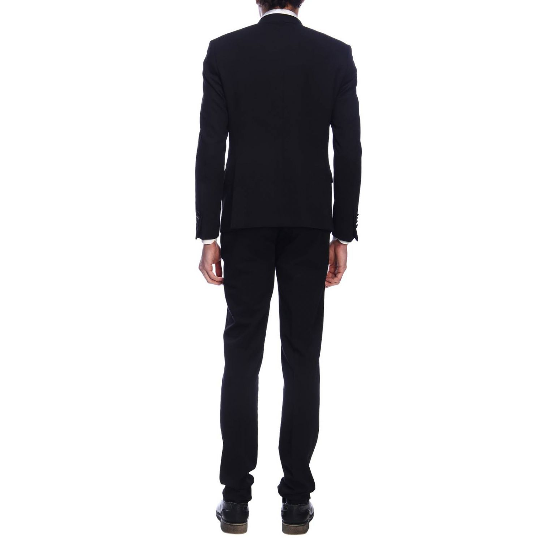 Suit Daniele Alessandrini: Suit men Daniele Alessandrini black 3