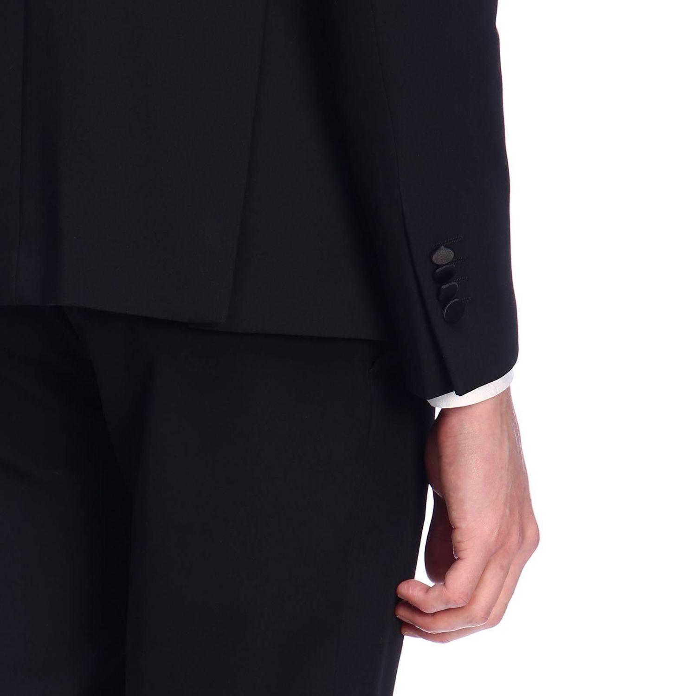 Suit Daniele Alessandrini: Suit men Daniele Alessandrini black 4
