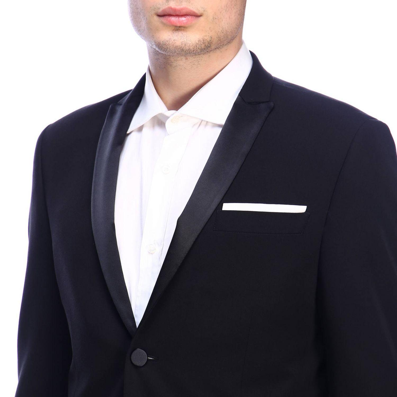 Suit Daniele Alessandrini: Suit men Daniele Alessandrini black 5