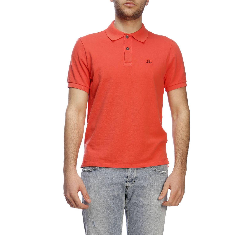 T恤 男士 C.p. Company 珊瑚色 1