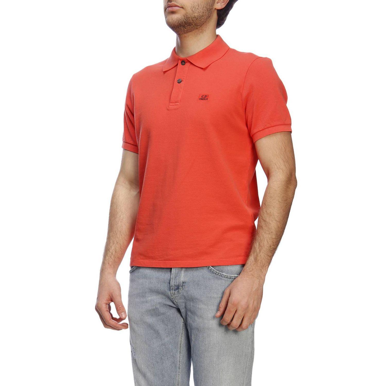 T恤 男士 C.p. Company 珊瑚色 2