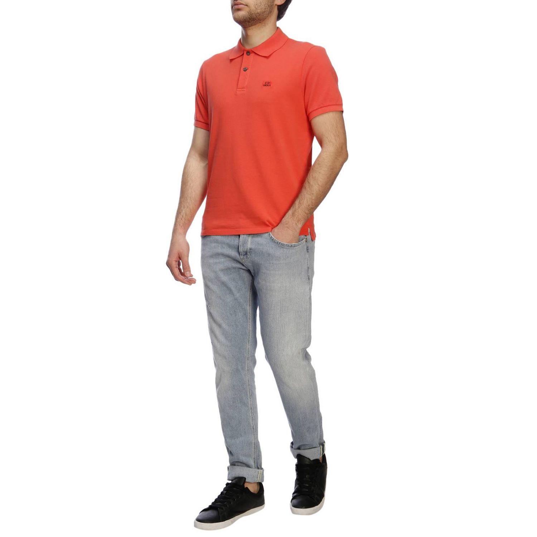 T恤 男士 C.p. Company 珊瑚色 4