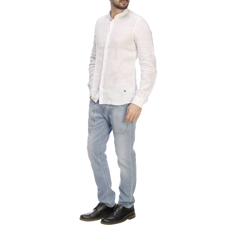 Shirt men Fay white 5