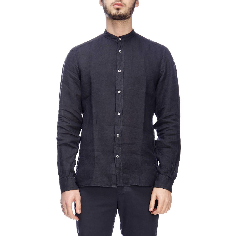 Рубашка Мужское Fay темно-синий 1