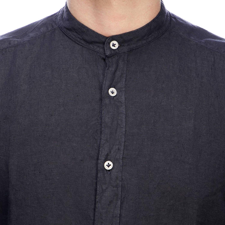 Shirt men Fay navy 4