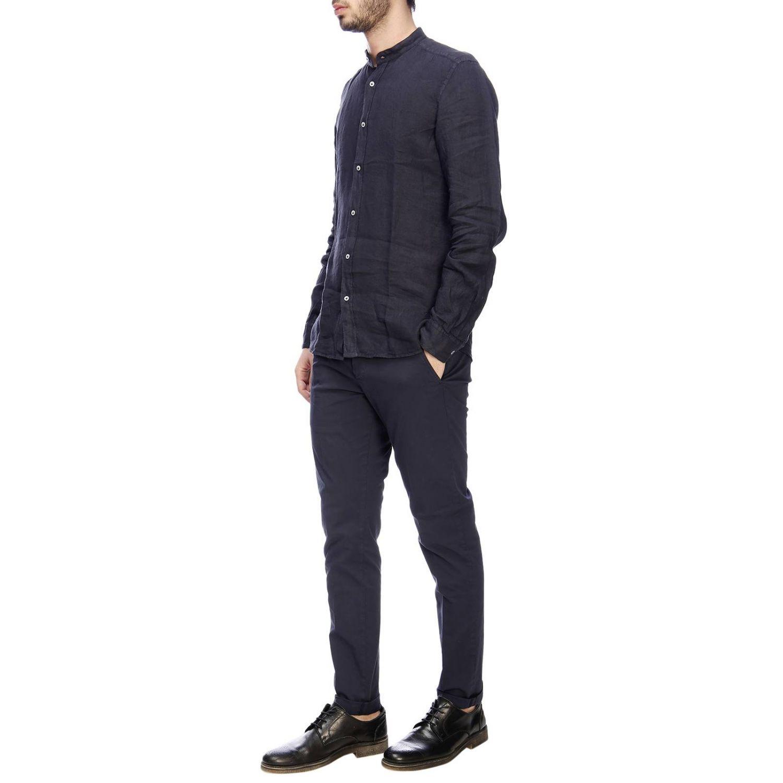 Рубашка Мужское Fay темно-синий 5