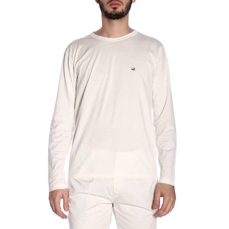 T恤 男士 C.p. Company 白色 1